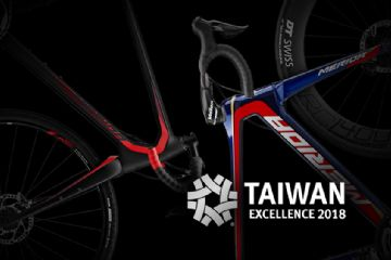 OCENĚNÍ TAIWAN EXCELLENCE AWARD 2018 PRO KOLA MERIDA  SILEX 9000 A REACTO DISC TEAM
